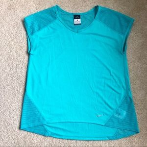 Nike dri fit running top sz M